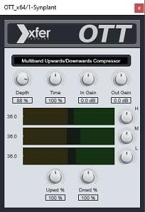 xfer OTT interface