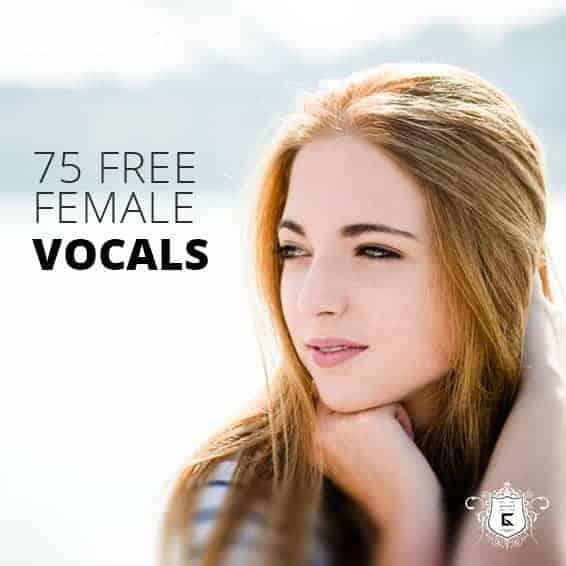 75 female free vocal samples