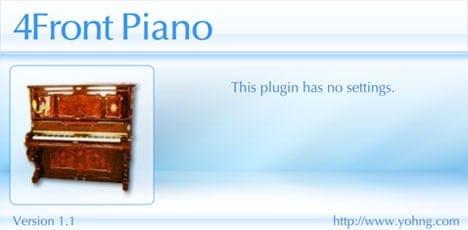 Free piano VST plugin